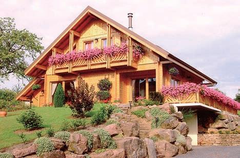 Les Diff Rents Types De Maisons Ossature Bois
