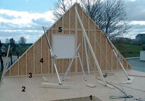 Solives 1 plancher du premier tage 2 lisse basse du for Lisse haute ossature bois